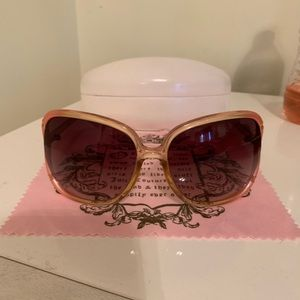 Juicy Couture Sunglasses with case